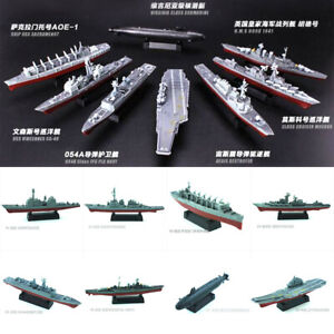 4D Assembly Battleship Warship Model Modern Class Aircraft Carrier Military Toy