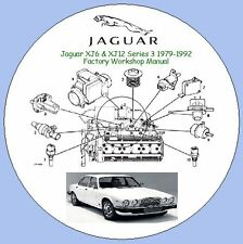 Jaguar XJ6 & XJ12 série 3 1979-1992 Factory Workshop Manual