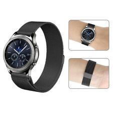 Bracciale 22mm acciaio maglia milanese MAGNETICO Mediacom Smartwatch V90 MI8N