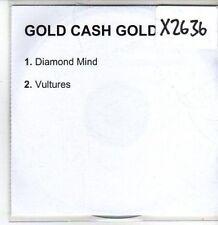 (CS214) Gold Cash Gold, Diamond Mind / Vultures - 2003 DJ CD