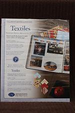 Creative Memories Printed Photo Mounting Scrapbook Paper - Textiles