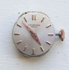 UNIVERSAL GENEVE  WRISTWATCH DIAL+ MOVEMENT no Running WOMAN maquina movimiento