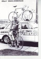 CYCLISME carte ALBERT VANVLIERBERGHE  (equipe flandria ca va seul )  1979