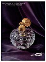 Publicité ancienne parfum Marcel Franck l'élégance 1957 issue de magazine