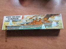 AIRFIX H.M.S Tirpitz échelle 1/600 rayure rouge rare ONU Made Model Kit