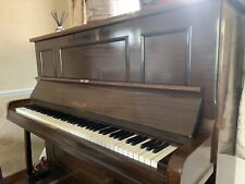 More details for challen mahogany upright piano