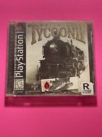 🔥PS1 PlayStation 1 PSX GAME💯COMPLETE WORKING GAME🔥RAILROAD TYCOON 2
