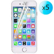 "5x LAMINA PROTECTOR DE PANTALLA ULTRA-TRANSPARENTE PARA APPLE iPhone 6 Plus 4.7"""