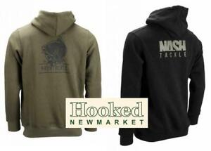 Nash Tackle Hoody  Green & Black Hoody Versions  *NEW FOR 2019*  Both Colours