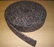 Trittschalldämmung Gummi-Kork, Dicke 3 mm, Streifen 10 m x 20 mm