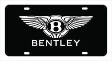 """BENTLEY"" Bentley License Plate, Custom Made of Chrome Plated Metal"