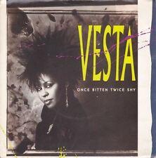 """Once Bitten Twice Shy/ My Heart Is Yours 7"""" : Vesta"""