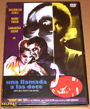 UNA LLAMADA A LAS DOCE / RETURN FROM THE ASHES -English Español- Precintada