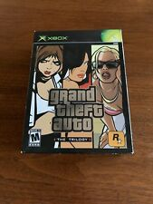Grand Theft Auto: The Trilogy (Microsoft Xbox, 2005) Complete W Posters Manuals