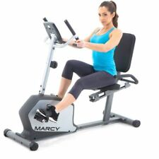Marcy Magnetic Recumbent Cycle: NS-1201R W