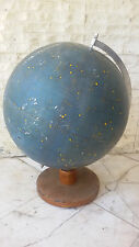 Vintage Ultra Rare 1950's Desk German Zodiacal Map Globe Globus HIMMELSGLOBUS