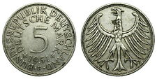 Germany - 5 Mark 1951F - Silver