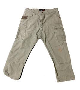 Wrangler RIGGS Workwear Ripstop Ranger Cargo Mens Pants 38 X 30