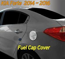 Fuel Gas Tank Door Cap Cover Chrome Molding 1P for KIA Cerato 2014 2015 2016