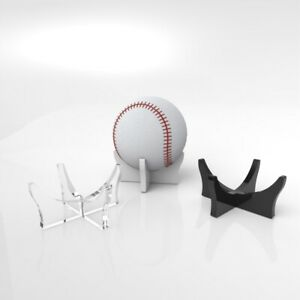 Acrylic Baseball Ball Display Stand / Signed Autographed Perspex Holder