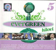 EVERGREEN 5 hitovi CD Gabi Novak dubrovacki trubaduri miso RA Kovac arsenico Dedic CRO