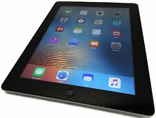 Unlocked GSM Apple iPad 3 3rd Gen 32GB Black WiFi AT&T iOS 9.3.5 Corner Cracks