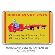 RETRO  HORNBY DUBLO  DINKY TOYS  - LANSING BAGNALL TRACTOR JUMBO FRIDGE MAGNET