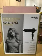 BaByliss Power Smooth 2400 Lightweight Hair Dryer -*Brand New*
