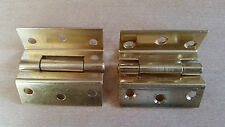 "Stormproof Hinges Electro Brassed  2.1/2""  AMAZING OFFER - PRICE IS FOR 5 PAIRS"