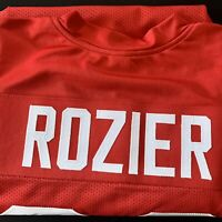 "Mike Rozier Signed Nebraska Jersey Inscribed ""Heisman 1983"" COA Included HUSKERS"
