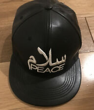 SALAAM & PEACE BLACK ARABIC CAP