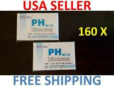 160x pH Indicator Test Strips 1-14 Laboratory Paper Litmus Tester Urine Saliva