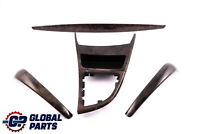 BMW 1 Series 2 E81 E82 Ashtray Trim Strip Set Dashboard Wood Poplar Grain Grey