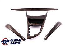 BMW 1 Series 2 E81 E82 Ashtray Trim Strip Set Dashboard Wood Poplar Grain Grey