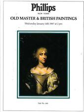 Phillips Old Master & British Paintings Auction Catalog 1987