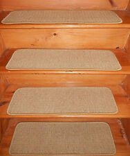 13 = Step 9'' x 30'' Tufted Woven Wool carpet  Stair Treads Premium .