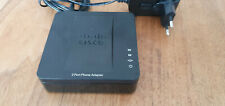 Cisco SPA112 , Telefonadapter / Analogadapter / Phone Adapter, VoIP, schwarz