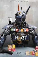 Chappie - original DS movie poster - D/S 27x40