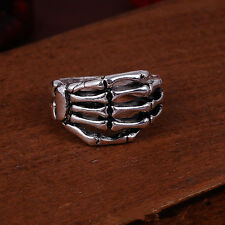 Jewelry Charm 316L stainless steel Fashion Punk design Palm ring US size9 A45