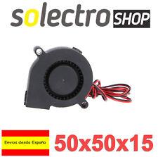 Ventilador 12V 2 cables 50x50x15 FAN Blow Turbina Reprap Impresora 3D AXIAL I120