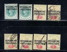 British Protectorate Used Bechuanaland Stamps (Pre-1966)