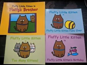 Fluffy Little Kitten 4 Book Mega Bundle!