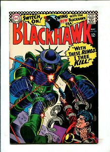 BLACKHAWK #232 1967 DC (8.0) WITH THESE RINGS I THEE KILL!