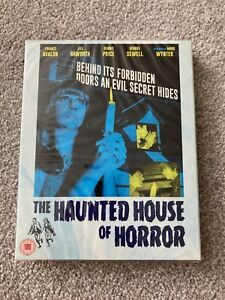 The HAUNTED HOUSE OF HORROR [1969] TIGON FILMS, LIMITED EDITION NUMBERED BLU RAY