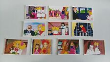 CANDY CANDY LOTE 5 DE 10 CROMOS 1986 TOEI ANIMATION TRADING CARDS FIGURINES