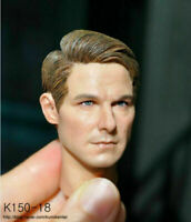 "1/6 KUMIK K150-18 Male Short Hair Head Carving F 12"" PH Figure Body Model"