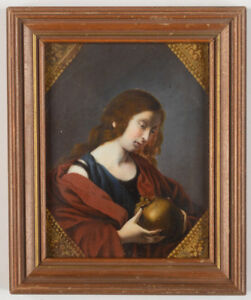 """""""St. Magdalena (after Carlo Dolci)"""", miniature, 1809"""