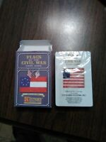 Flags Of The Civil War Card Game Never Opened History Channel Life Member