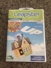 Leapster Leap Frog Disney Pixar Up Math Game Only Cartridge K-2 5-8 Tested