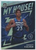 MINT JARRETT CULVER 2019-20 Donruss OPTIC #19 My House Rookie SILVER PRIZM HOLO